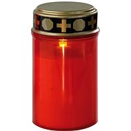 EMOS LED Grablichte, 2 × C, rot, mit Sensor - Kerze