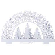 EMOS LED Dekoration - Holzständer 2 x AA, warmweiß, Timer - Weihnachtsbeleuchtung