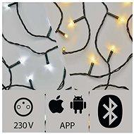 Anwendungsgesteuerte LED-Weihnachtskette, 24 m, Außenbereich, kalt / warmweiß - Weihnachtsbeleuchtung