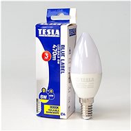 Tesla LED Kerzenbirne E14 6 Watt - LED-Birne