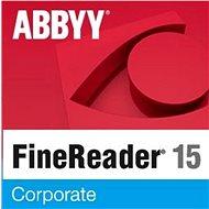 ABBYY FineReader 15 Corporate (elektronische Lizenz) - Software OCR