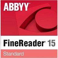 ABBYY FineReader 15 Standard Upgrade (elektronische Lizenz) - Software OCR