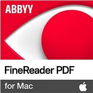 Officesoftware ABBYY FineReader PDF für Mac (elektronische Lizenz)