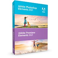 Adobe Photoshop Elements + Premiere Elements 2019 MP ENG (elektronická licence) - Elektronická licence