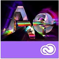 Adobe After Effects Creative Cloud MP team ENG Commercial RENEWAL (12 Monate) (Elektronische Lizenz) - Grafiksoftware