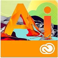 Adobe Illustrator Creative Cloud MP ENG Commercial (12 months) (Electronic License) - Electronic license