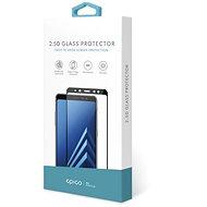 Epico Glass 2.5D für Samsung Galaxy M10 - Schwarz - Schutzglas