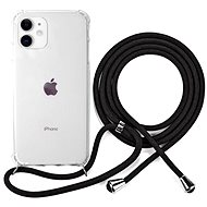 Epico Nake String Case iPhone 11 - weiß transparent / schwarz - Handyhülle