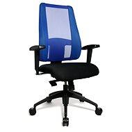 TOPSTAR Lady Sitness Deluxe blau/schwarz - Bürostuhl