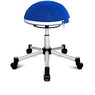 TOPSTAR Sitness Half Ball - Sitztrainer - blau - Balanzstuhl