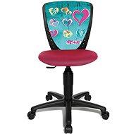 TOPSTAR S´COOL NIKI Motiv Herz - Stuhl für Kinder