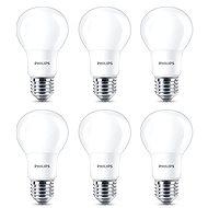 Philips LED 8-60 W, E27, 2700 K, matt, 6-er Pack - LED-Lampen