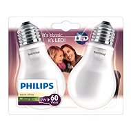 Philips LEDClassic 7-60W, E27, 2700K, Milch, Set - LED-Lampen