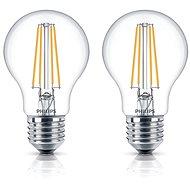 Philips LED Classic Filament Retro 6-60W, E27, 2700K, klar, Set 2 Stück - LED-Lampen