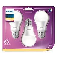 Philips LED 9-60W E27, 2700K, Matt, Set 3-Teilig - LED-Lampen
