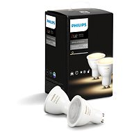 Philips Hue White Ambiance 5,5W GU10 2er-Set - LED-Lampe