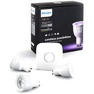 Philips Hue White and Color ambiance 6.5W GU10 starter kit - LED-Birne