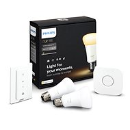 Philips Hue White Ambiance 9.5W A60 Starter Kit - LED-Lampen
