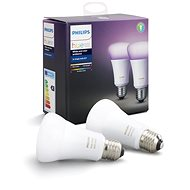 Philips Hue White and Color ambiance 10W E27 set 2ks - LED-Lampen