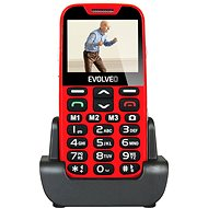 EVOLVEO EasyPhone XD rot-silber - Handy