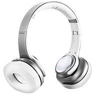 EVOLVEO SupremeSound 8EQ mit 2in1-Lautsprecher, silber - Kabellose Kopfhörer