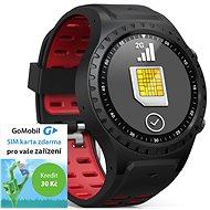 EVOLVEO SportWatch M1S Black Red, SIM - Fitness-Armband