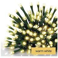 EMOS LED-Weihnachtskette grün, 12 m, innen und außen, warmweiß - Weihnachtskette