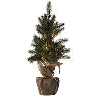 EMOS LED-Weihnachtsbaum, 52 cm, 3x AA, innen, warmweiß, Timer - Weihnachtsbaum