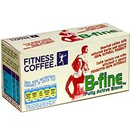Fitness coffee B-fine Fully Active Blend, Instant, 30x7g - Kaffee