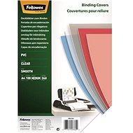 FELLOWES A4 Vorderseite, transparent - 100 Stück Packung - Bindecover