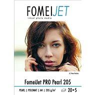 FOMEI Jet PRO Pearl 205 A4 - Packung 20 Blatt + 5 Blatt gratis - Fotopapier