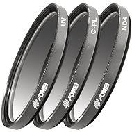 Fomei Filter Kit 58mm (UV, CPL, ND4) - UV Filter