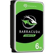 Seagate BarraCuda 6 TB - Festplatte