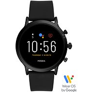 FOSSIL FTW4025_M_Black/Black_Silicone - Smartwatch