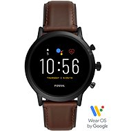 FOSSIL FTW4026_M_Black/Brown_Leather - Smartwatch