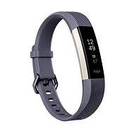 Fitbit Alta HR, groß, Blaugrau - Fitness-Armband
