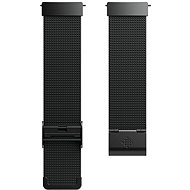 Fitbit Versa Accessory Band, Metal Mesh, Black Stainless Steel, Standard - Uhrband
