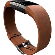 Fitbit Charge 2 Lederarmband Braun Klein - Armband
