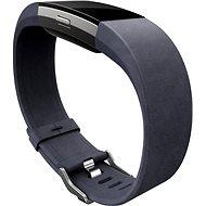 Fitbit Charge 2 Lederarmband Indigo Groß - Armband