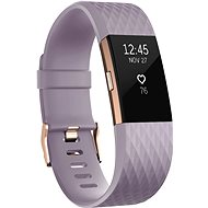 Fitbit Charge 2 Small Lavender Rose Gold - Fitness-Armband