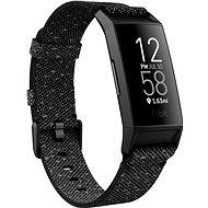 Fitbit Charge 4 Special Edition - Granit reflektierend gewebt / schwarz - Fitness-Armband