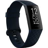 Fitbit Charge 4 (NFC) - Storm Blue/Black - Fitness-Armband