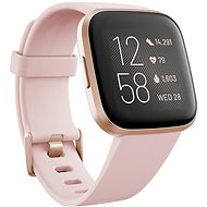 Fitbit Versa 2 (NFC) - Petal / Copper Rose - Smartwatch