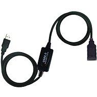 PremiumCord USB 2.0 Repeater 10 m Verlängerung - Kabel