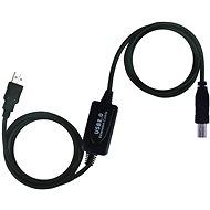 PremiumCord USB 2.0 Kabel mit Verstärker, 20 m lang - Kabel