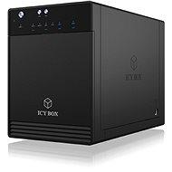 ICY BOX IB-3740-C31 schwarz - NAS Datenspeicher