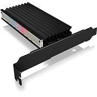 ICY BOX IB-PCI224M2-ARGB ARGB PCIe-Erweiterungskarte für M.2 NVMe SSD - PCI-Controller