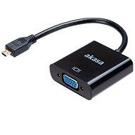 AKASA Micro HDMI - VGA-Adapter / AK-CBHD21-15BK - Adapter