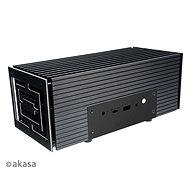 AKASA Turing FX Aluminiumgehäuse für 10. Gen. Intel NUC (Frost Canyon) / A-NUC52-M1B - PC-Gehäuse