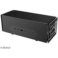 AKASA - Turing A50 Aluminiumgehäuse für ASUS® PN50 mit AMD Ryzen Prozessoren ™ 4000 / A-NUC62-M1B Se - PC-Gehäuse